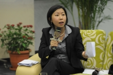 Ms Jade Lai Wing-yu, Manager (Research) of Bauhinia Foundation Research Centre