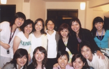 Prof. Cheng Pui-wan (middle of the back row)