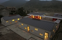 The new school is safe, durable and looks attractive
