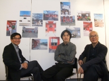 (From left) Prof. HO Puay-peng, Director, School of Architecture, CUHK; Prof. ZHU Jingxiang, Assistant Professor, School of Architecture, CUHK; and Mr. Victor CHOI, Hong Kong Dragon Culture Charity Fund