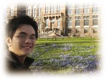 到瑞典交流的历史系学生林凯谦