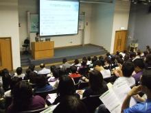 百多位老師及青少年工作者出席青少年精神健康工作坊