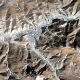 玉樹—震前(衛星Landsat TM 2010年2月26日)