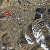 玉樹州體育場(衛星SPOT影像)