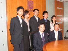 (Front row, left) 