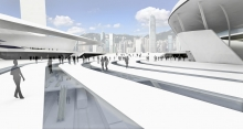 XRL Terminal as a Civic Urban Center - An Alternative Selfless Infrastructure Development Model For Architecture that Respects People and the City