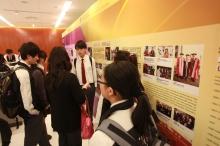 高锟教授成就展吸引众多市民及同学参观