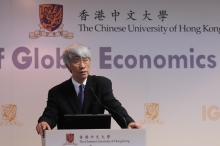 Lecture by Prof. Joseph Yam, Distinguished Research Fellow of the Institute of Global Economics and Finance, CUHK.