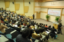 講座吸引過百位嘉賓出席