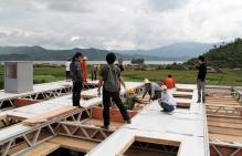 新芽學堂僅需十四天便完成組裝
