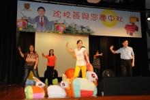 中大職員協會表演排排集體舞