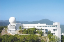 Fok Ying Tung Remote Sensing Science Building connects to the existing Satellite Remote Sensing Ground Receiving Station, serving as a hub for the University's research in geoinformation and earth sciences. It is also one of the most important satellite remote sensing research facilities in Southern China