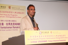 Prof. Venkatraman Ramakrishnan, 2009 Nobel Laureate in Chemistry