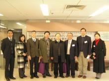 代表团到访李嘉诚健康科学研究所