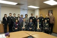 代表团到访生物医学学院