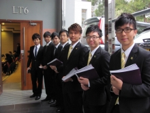 入读中大的尖子学生担任资讯日大使,为学弟学妹讲解课程特色