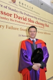 Prof. David Shu-cheong Hui, the first incumbent of Stanley Ho Professor of Respiratory Medicine