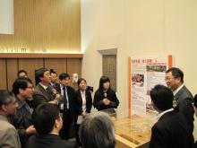 「2012年度學生創新與創業作品展覽」 的其中一項展品—四川地震重建項目
