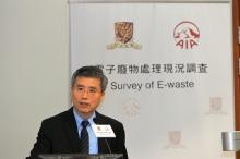中大商学院副院长范建强教授表示学生很愿意共同参与改善电子废物问题。