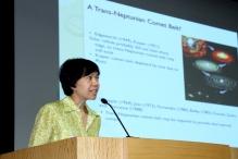 刘丽杏教授以「扩展太阳系:凯伯带的发现」为题发表演讲。
