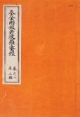 Tripiṭaka Koreana Imprint by Emperor Gojong of the Goryeo dynasty in Korea during 1236-1251 Woodblock printed edition, re-printed in 1909 1341 volumes