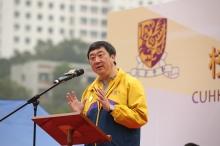 Welcome speech by Prof. Joseph Sung.