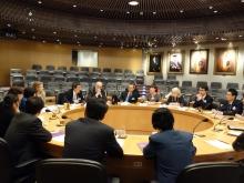 劍橋大學、中國殘疾人聯合會及中大的研究人員就一項新研究合作項目展開會議,探討自閉症於中國內地的普及情況。