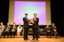 中大於國家教育部頒發的2012年度高等學校科學研究優秀成果獎(科學技術)中共獲四項殊榮。國家教育部副部長杜占元博士向中大頒授證書,由署理校長華雲生教授代表領獎。