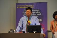 中國高等教育文獻保障系統管理中心副主任陳凌先生發表主題演講