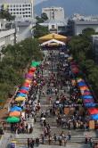 超过五千位本港与海外校友及亲友返回母校同贺金禧。