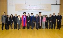A group photo of CUHK members and representatives of Hong Kong Sanatorium & Hospital.