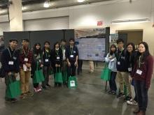 The CUHK genetic engineering team in the iGEM 2014 Giant Jamboree in Boston, USA.