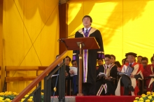 Address by Prof. Joseph Sung, CUHK Vice-Chancellor