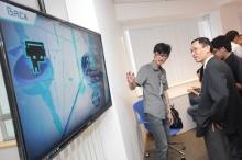 曾家俊開設的公司C4Cat,在Pi Centre創業團隊的協助下,最近成功推出了一款手機音樂遊戲程式《Dynamix》。