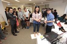 蔡詩爾領導的OnePersonalization個人優製,開創了一個3D訂製個人化女裝鞋的平台。