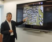 吳恩融教授的研究團隊,利用德國的先進電腦模擬技術,剖析香港複雜的氣候及城市通風狀況。