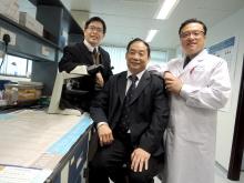 (右起)李刚教授、蓝辉耀教授和钟志刚教授。