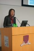 中大副校長潘偉賢教授致開幕辭。