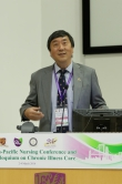 Prof. Joseph Sung delivers an opening address