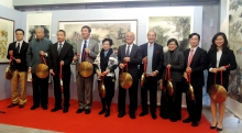 Opening Ceremony of the Chinese Painting Exhibition.