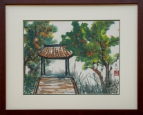 Xu Weixing, S.H. Ho College -  Lingering Thoughts of the Kiosk, Terrace and Tree Shadow