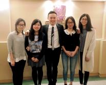 蔡宗衡教授与研究团队合照