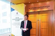 中大校长沈祖尧教授感谢刘佐德先生及其家人对中大的厚爱与支持。