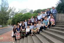 The participants of the International Workshop on South China Sea Coastal and Ocean Meso-scale Processes pose for a group photo.