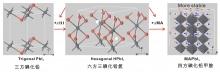 「非化學計量比的酸鹼反應」(NABR)合成方法之圖解。
