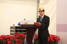 Dr. the Hon Ko Wing-man, Secretary for Food and Health, HKSAR Government delivers a speech.