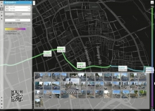 Towards Human Perception: Pedestrian Route Planning in Urban Space