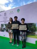 由中大建築學院建築文化遺產研究中心副總監羅嘉裕先生(中)領導的團隊擔任大埔警署活化計劃的保育顧問,將歷史建築群活化成推廣永續生活的綠匯學苑。