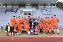 中大於第十四屆兩大校長盃足球賽勝港大二比零。