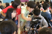 The Mars Media Summer Camp gives secondary school students an opportunity to participate in media production.